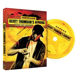 dvd de magie aurora du magicien scott thomason par big blind media