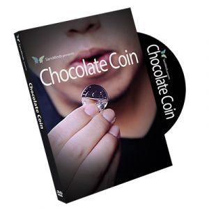 dvd de magie chocolate coin