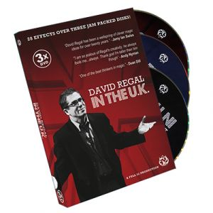 dvd de magie DAVID REGAL in the UK