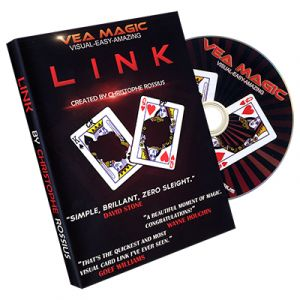 dvd de magie LINK , the linking card project