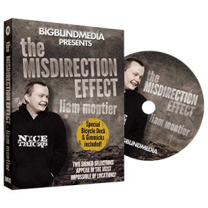 dvd de magie The Misdirection Effect du magicien Liam Montier