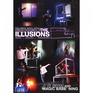 DVD Behind the Illusion du magicien JC Sum