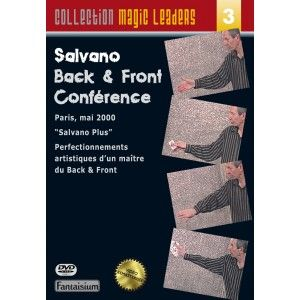 DVD Salvano Back and Front - Salvano
