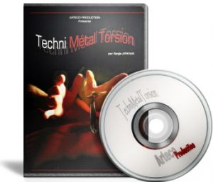 DVD Techni Metal Torsion par le magicien Serge Arkhan