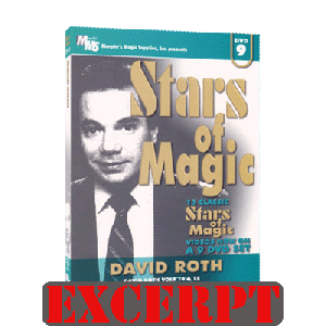 Super Clean Coins Across video DOWNLOAD (Excerpt of Stars Of Magic #9 (David Roth) - DVD)