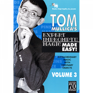 Stern Paper Fold video DOWNLOAD (Excerpt of Mullica Expert Impromptu Magic Made Easy Tom Mullica- #3, DVD)