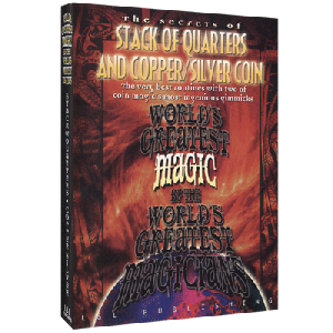 Stack Of Quarters And Copper/Silver Coin video DOWNLOAD