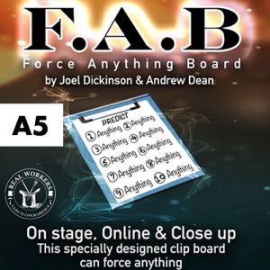 FORCE ANYTHING BOARD (NOIR) - A5