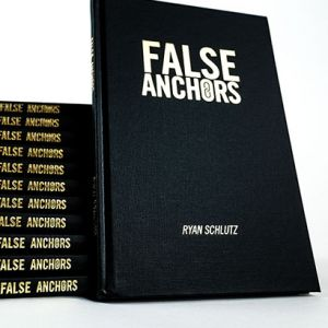 livre false anchors set ryan schlutz tour de magie philosophie