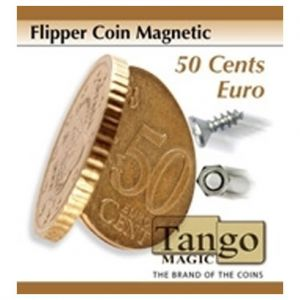 FLIPPER COIN MAGNETIC 0,50 € - piece magie