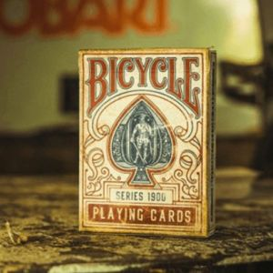 JEU DE CARTES BICYCLE 1900 - ROUGE
