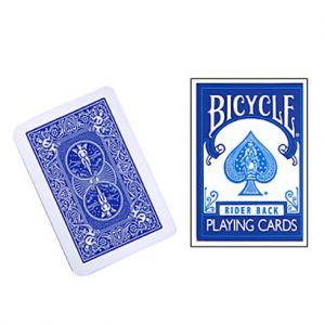 Jeu de cartes Bicycle Rider back format mini Rouge