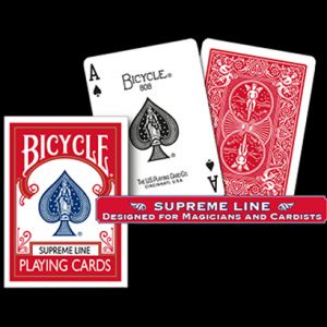 Bicycle SUPREME LINE (Rouge) - Jeu de Cartes