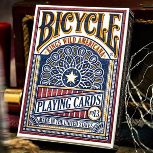 jeu de cartes bicycle kings wild americana tour de magie luxe poker playing cards bicycle wow