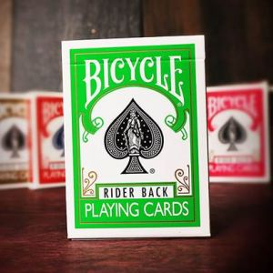 Jeu de cartes Bicycle Coloré Dos Vert