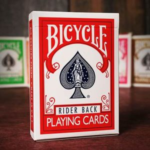 Jeu de Carte Bicycle Rider Back ROUGE - ancien modèle