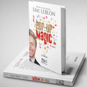 livre pop up magic tour de magie eric leblon closeup