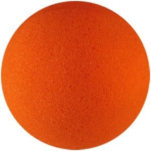 balle éponge orange 4 inch - goshman