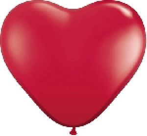 Ballon Coeur 6 inch Rouge - Qualatex