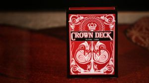 Jeu de cartes Crown Deck - rouge