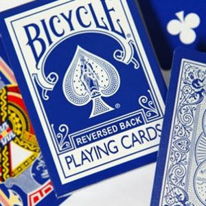 Jeu de cartes reversed Bicycle Bleu