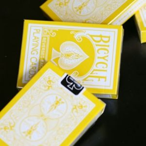 Jeu de cartes reversed Jaune