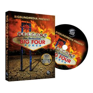 DVD de magie big four poker