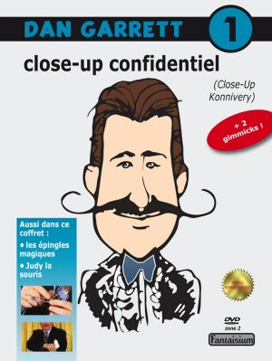 DVD Dan Garett Close-up confidentiel
