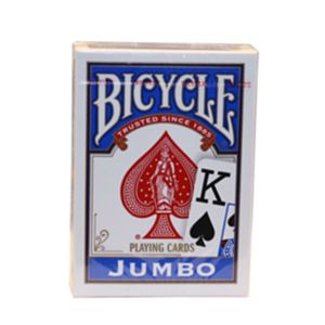 Carte Bicycle Jumbo Index Bleu par U.S. Playing Card Cie