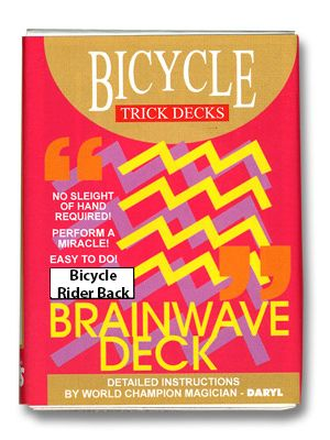 Jeu Brainwave Bicycle - bleu