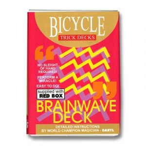 Jeu Brainwave Bicycle - rouge