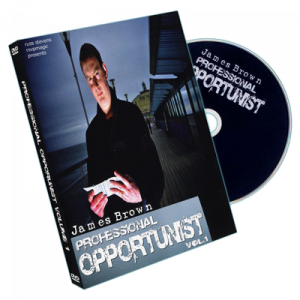 DVD Professional Opportunist Vol. 1 du mgciien James Brown