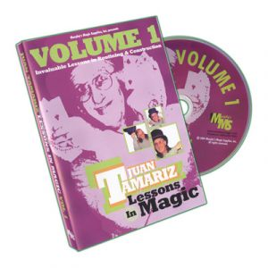 DVD Lessons in Magic Vol.1 du magicien Juan Tamariz