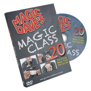 DVD de magie Magic DAVE du magicien David WILLIAMSON