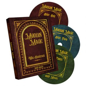dvd de magie modern magic du magicien Will HOUSTON