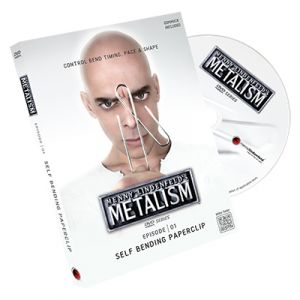 dvd Metalism: Episode 01 - Self Bending Paperclip - DVD + Gimmick