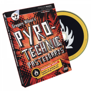 DVD Pyrotechnic Pasteboards avec le magicien Gregory Wilson