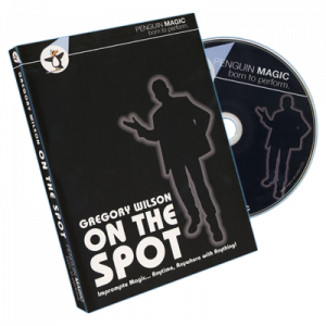DVD on the Spot du magicien Gregory Wilson