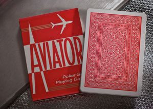 Jeu de cartes Aviator Rouge
