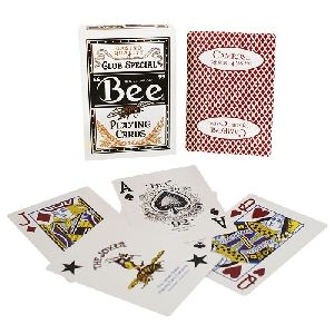 magie, le jeu de cartes BEE resort casino - dos rouge