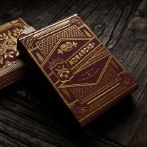 magie, le jeu de cartes Red Monarch par Theory11