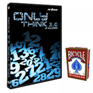 ONLY THINK 2.0 (DVD + JEU BICYCLE INCLUS) - J.P. Vallarino