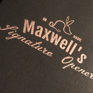 MAXWELL'S SIGNATURE OPENER - Other Brothers
