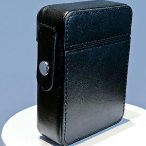 MAZE LEATHER CARD CASE (NOIR)