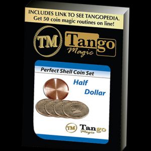 PERFECT SHELL COIN SET - DEMI DOLLAR - TANGO