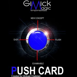 PUSH CARD (Bleu)
