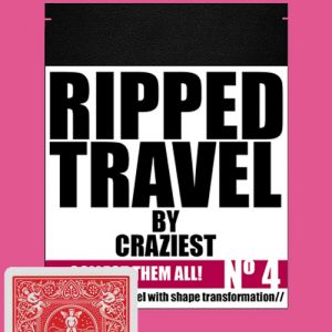RIPPED TRAVEL - ROUGE