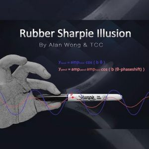 RUBBER SHARPIE ILLUSION