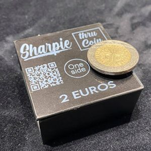 SHARPIE A TRAVERS LA PIECE - 2€