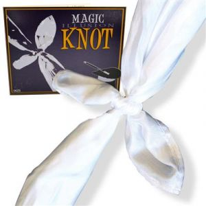 SLYDINI KNOT (Foulards de Slydini, magic illusion knot)